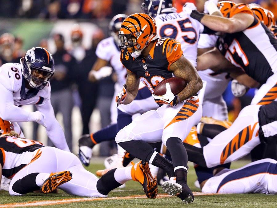 FÚTBOL AMERICANO (NFL 2014/2015) - Semana 16: Noche de intercepciones a Manning y Bengals a Playoffs