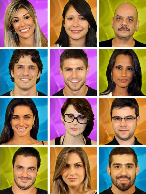 Os Participantes do BBB 12