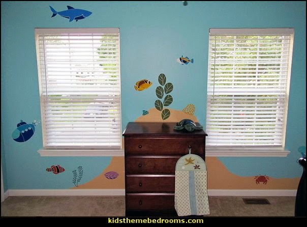 under the sea baby bedroom decorating ideas ocean theme baby bedrooms