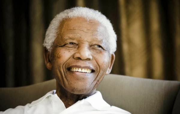 Go in peace Nelson Mandela