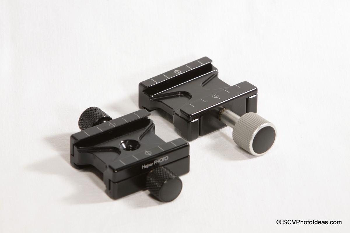 Hejnar PHOTO F51 Dual Subtend vs F50 Dual side clamp comparison