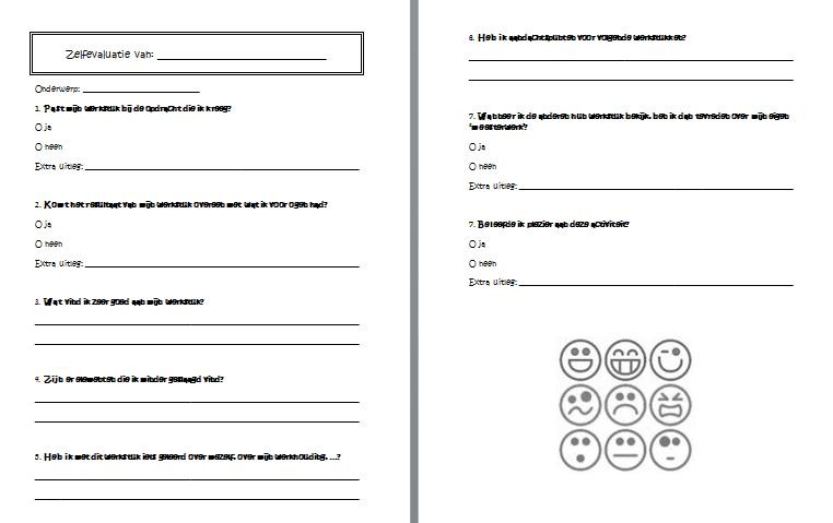 werkwijze : de leerlingen vullen de zelfevaluatie in na afloop van de ...: muzokarendesmet.blogspot.be/p/muzisch-evalueren.html