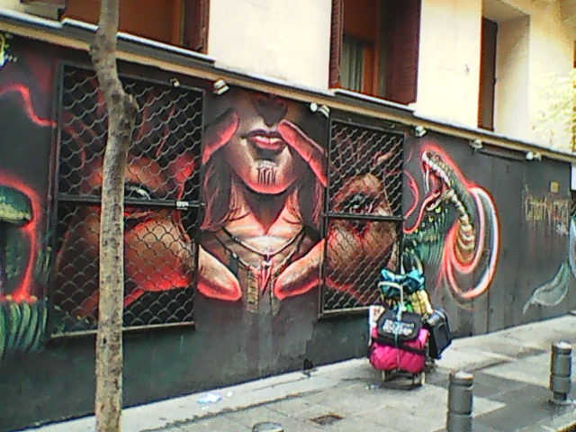 STREET  AND  MARGIN ART IN MADRID