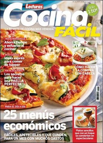 Revista Lecturas Cocina Facil | Revista Cocina Facil Lecturas Nº 201 Septiembre 2014 Pdf Hq