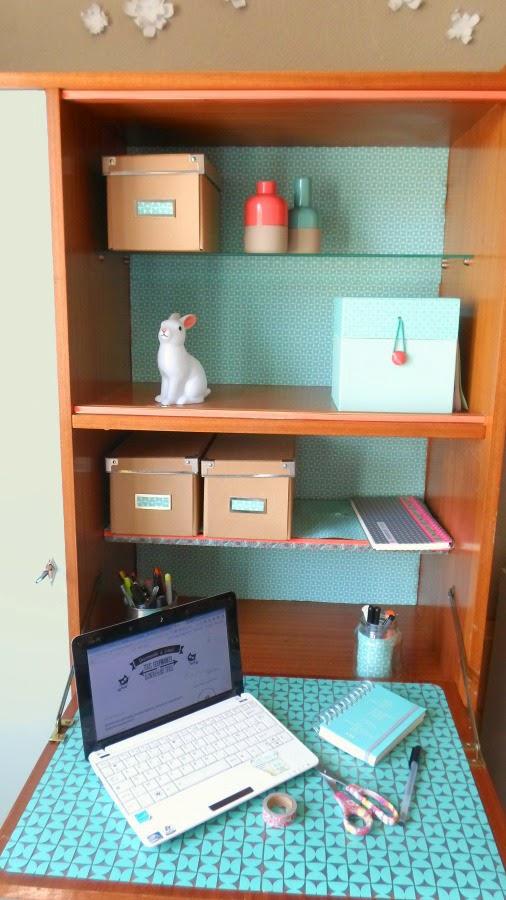 vintage replay mon nouveau bureau grosse r novation d 39 un secr taire sixties mzell chichi. Black Bedroom Furniture Sets. Home Design Ideas