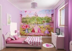 Room-Bedroom-Design-Children-Women-Cinderella