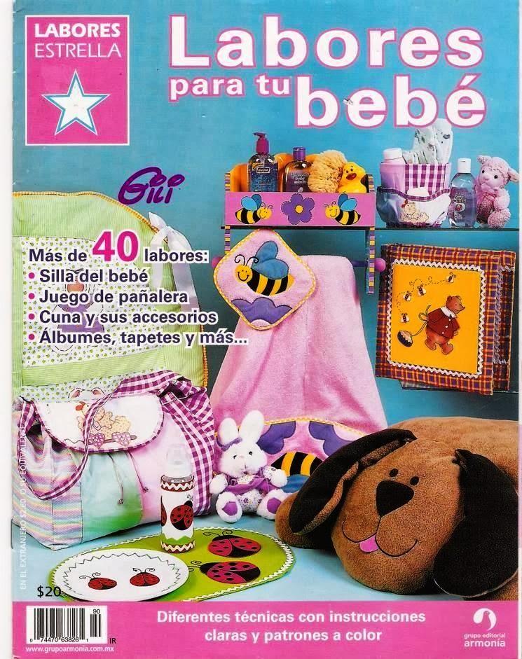 Revista Tus Manos Lenceria De Baño:Revista Labores para bebé – Revistas de manualidades Gratis