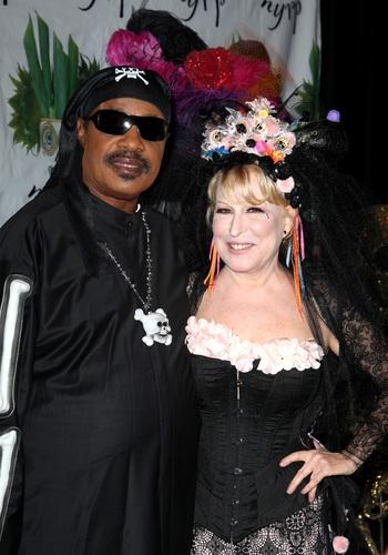 Stevie Wonder With Bette Midler