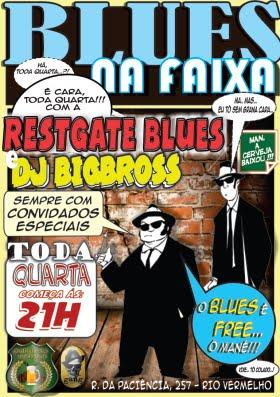 BLUES NA FAIXA