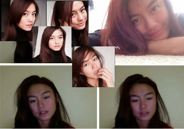 Foto Agnes Monica Tanpa Make Up 2