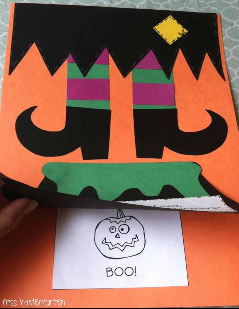 halloween activities miss kindergarten