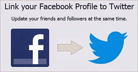 Connect FB and Twitter to Share status