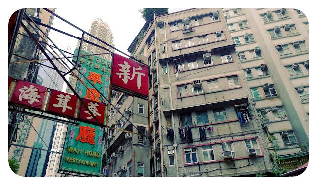 De ruta por Hong Kong