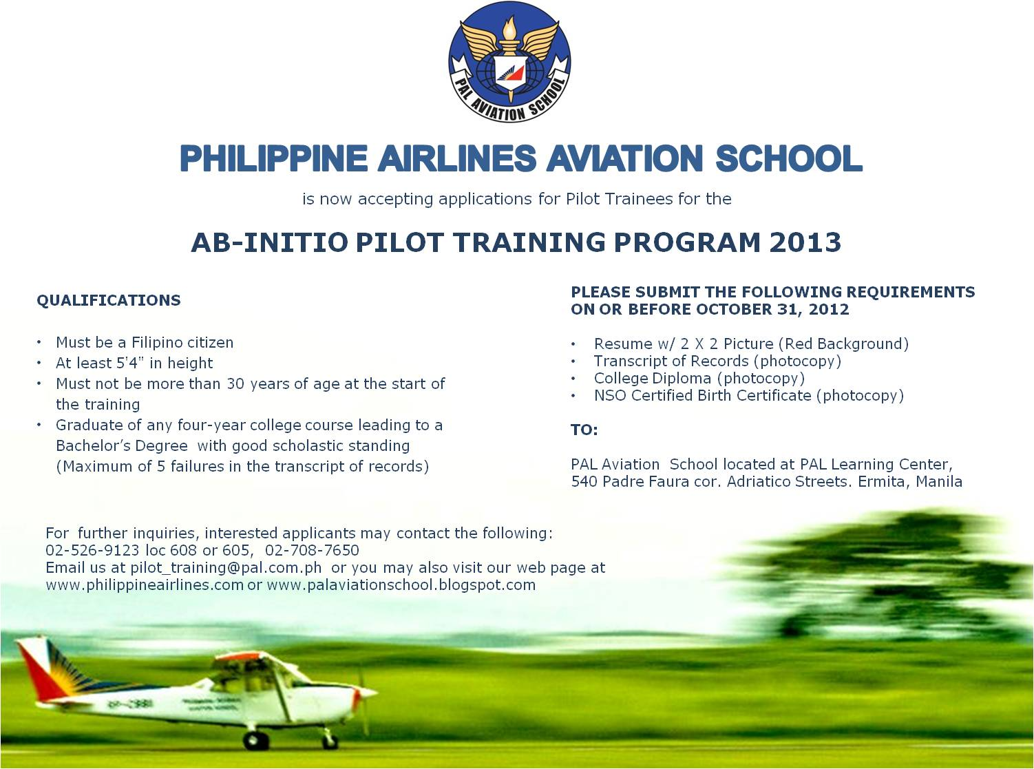 Aviation subjects to interest you in college