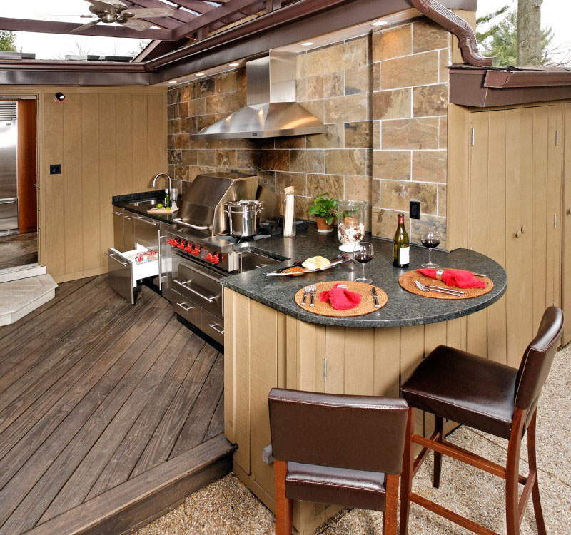 Parkdale ave obsession of the day outdoor kitchens for Building outdoor kitchen cabinets