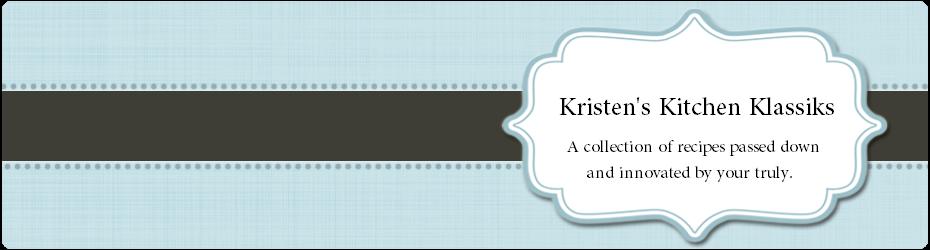 Kristen's Kitchen Klassiks