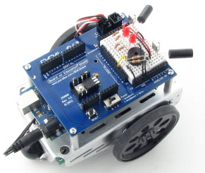 Infrared Remote Controlled Robot