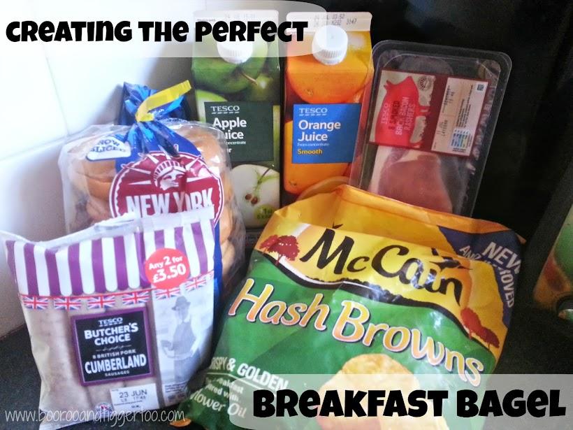 Boo Roo and Tigger Too: McCain Hash Browns Breakfast Bagel