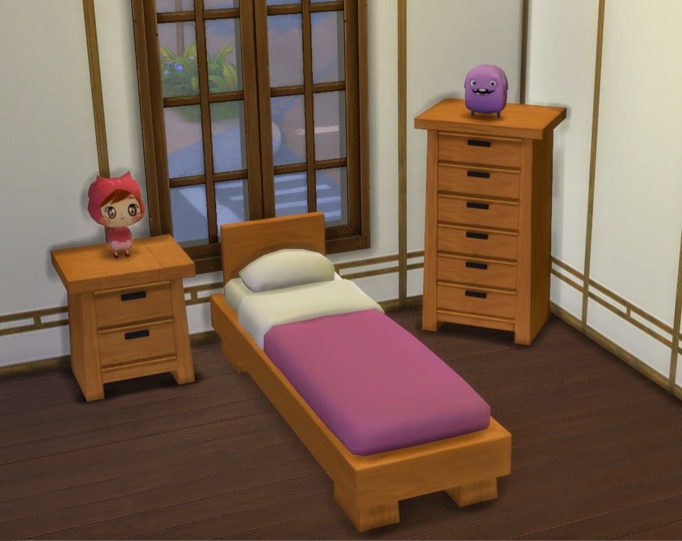 my sims 4 blog modern asian bedroom set by lexiconluthor