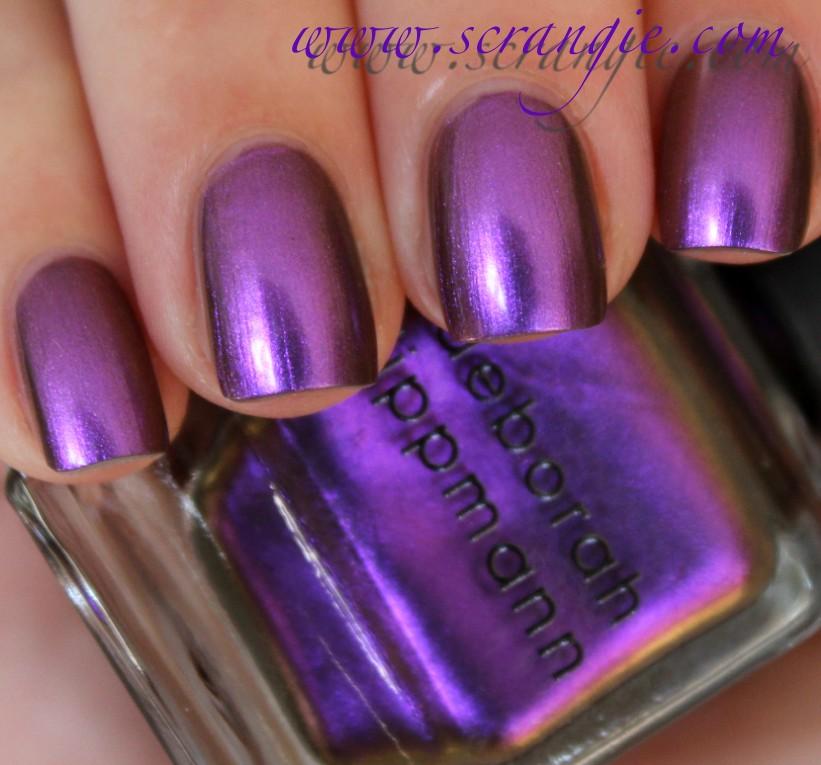 Scrangie: Deborah Lippmann Mirrored Chrome Nail Lacquer