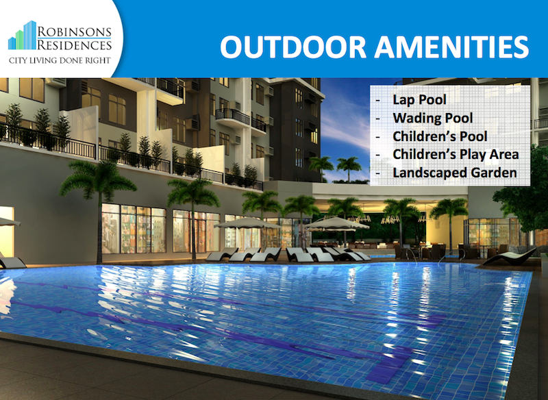 Delta Residences Davao - Outdoor Amenities