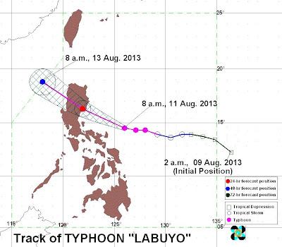 Typhoon Labuyo 2013 threatens luzon, metro manila