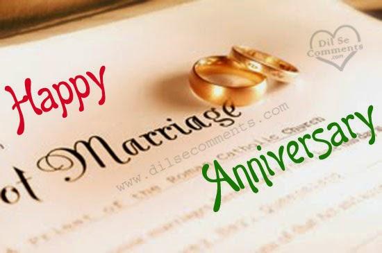 Message pour dire joyeux anniversaire de mariage
