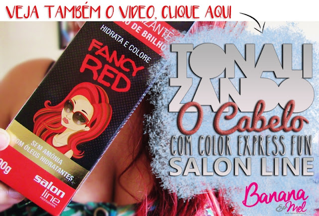 Video, Tonalizando o cabelo com Salon Line
