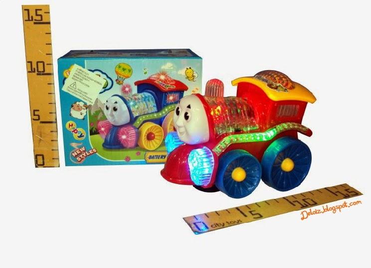 Mainan Kereta Api Thomas and Friends Tanpa Rel