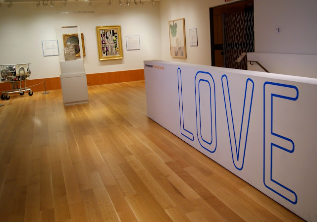 Love Section from Art as Therapy Exhibit at Art Gallery of Ontario in Toronto, artmatters, culture, paintings, history, Alain de Botton, John Armstrong, history, ontario, Canada, The Purple Scarf, Melanie.Ps