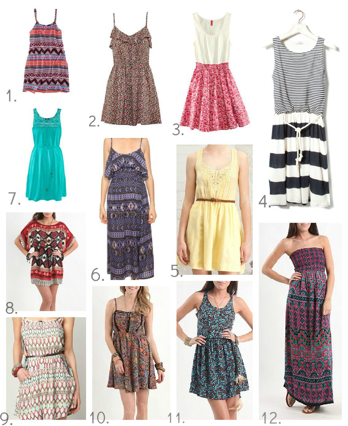 b h s summer dresses