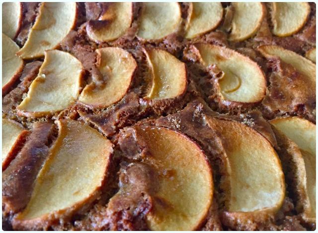 Apple and Cinnamon Slice