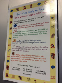 Early Literacy Signage