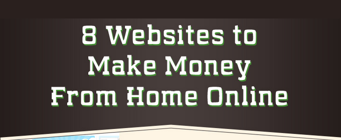 8 free ways to make money online from home infographic for Free money to build a house
