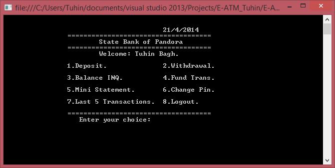 static html mini project