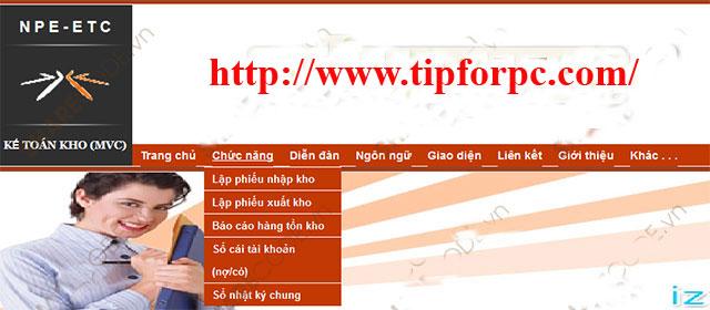 Source code Web Quản Lý Kho hàng Asp.Net