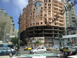 تقاطع ش. مصطفي فهمي مع طريق الحرية في ميدان جليم