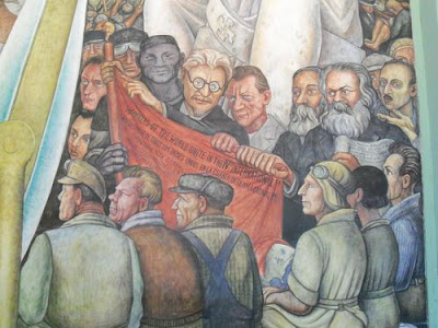 Fresco or bust part 2 02 mexican frescoes for Diego rivera lenin mural