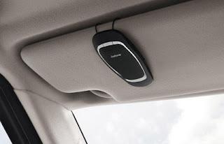 Jabra CRUISER Bluetooth in-car speakerphone await lucky Zipcar drivers