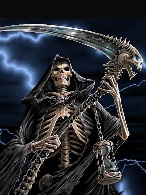 Grand Reaper In Pictur... Cool Grim Reaper Drawings