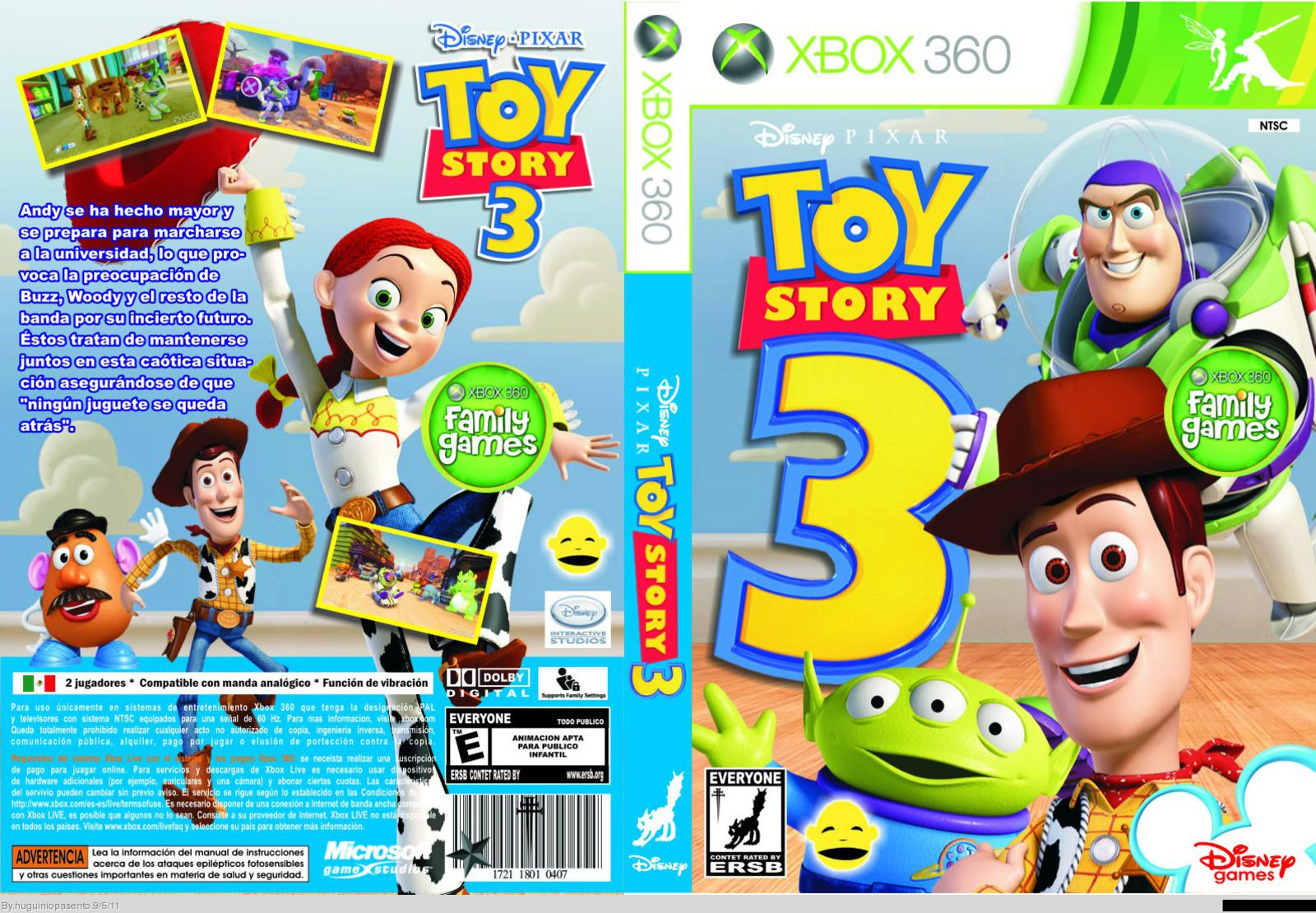 Verdugo Online Toy Story 3 - [ XBOX-360 ] [RF] [GuruFuel] Download Torrent