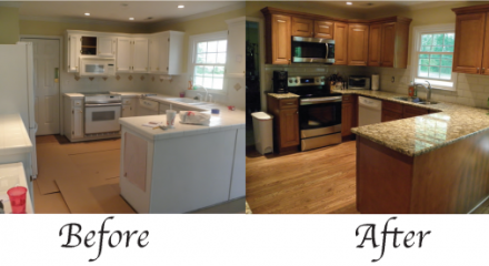 Modern Kitchen Remodel Before And After before and after kitchen renovations amazing before and after