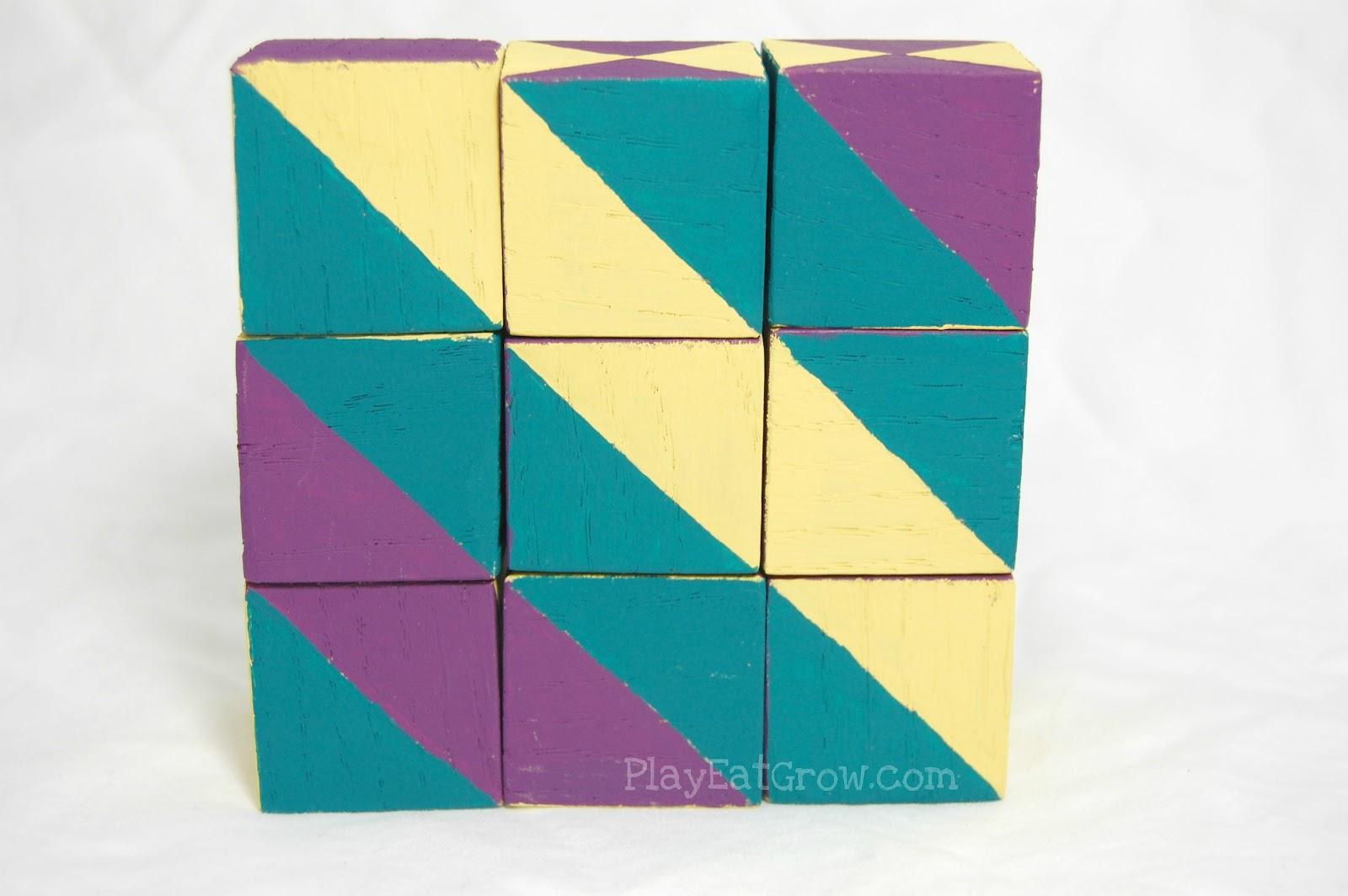 Кубики для детей своими руками