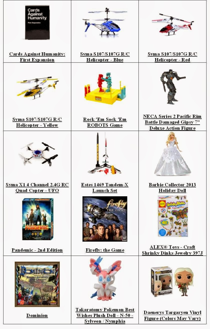 Best And Top Toys For Christmas Gifts -  Age Range 14 Years & Up