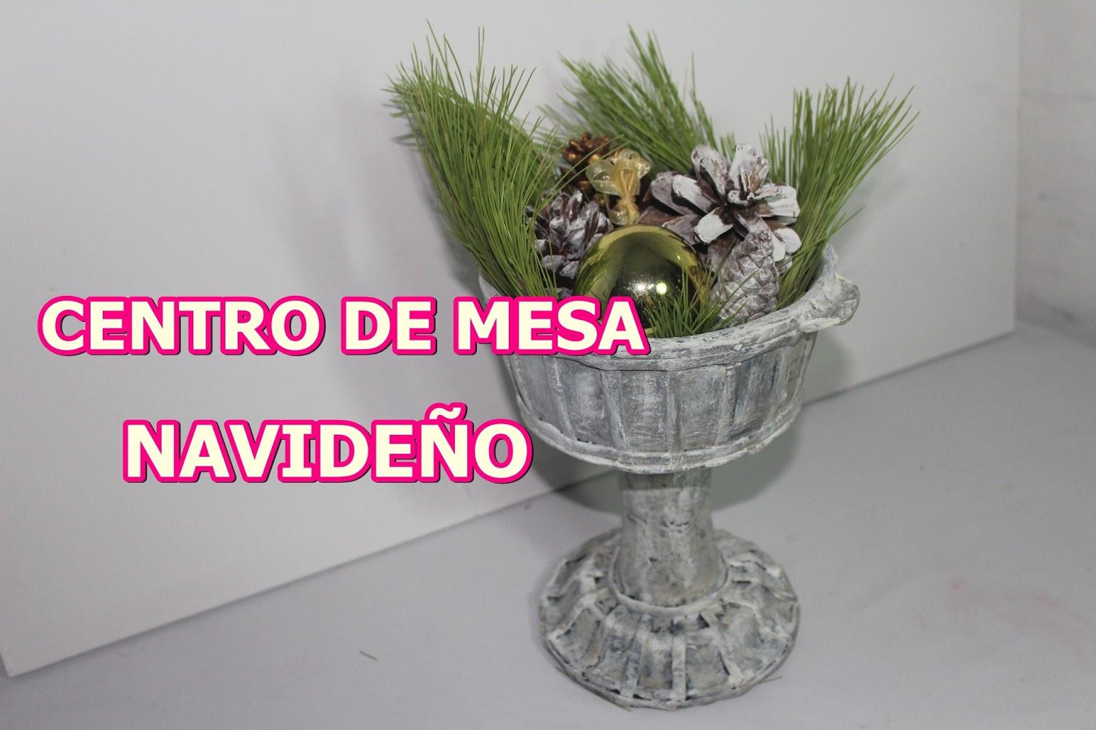El rincon de marylin como hacer adornos de navidad - Como hacer un centro de mesa navideno ...