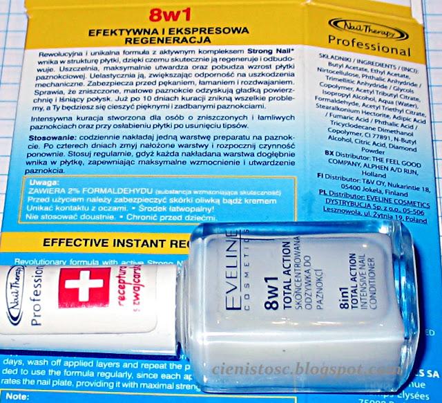 Recenzja odżywki Eveline 8w1 total action - nie taki diabeł straszny jak nim malują? ;)