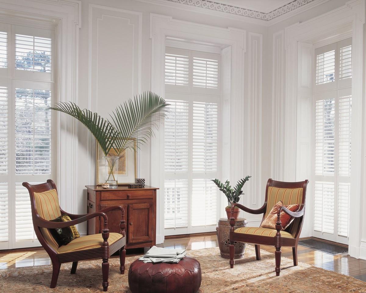 Blinds 4 less choosing window treatments the pros of - Hunter douglas interior shutters ...