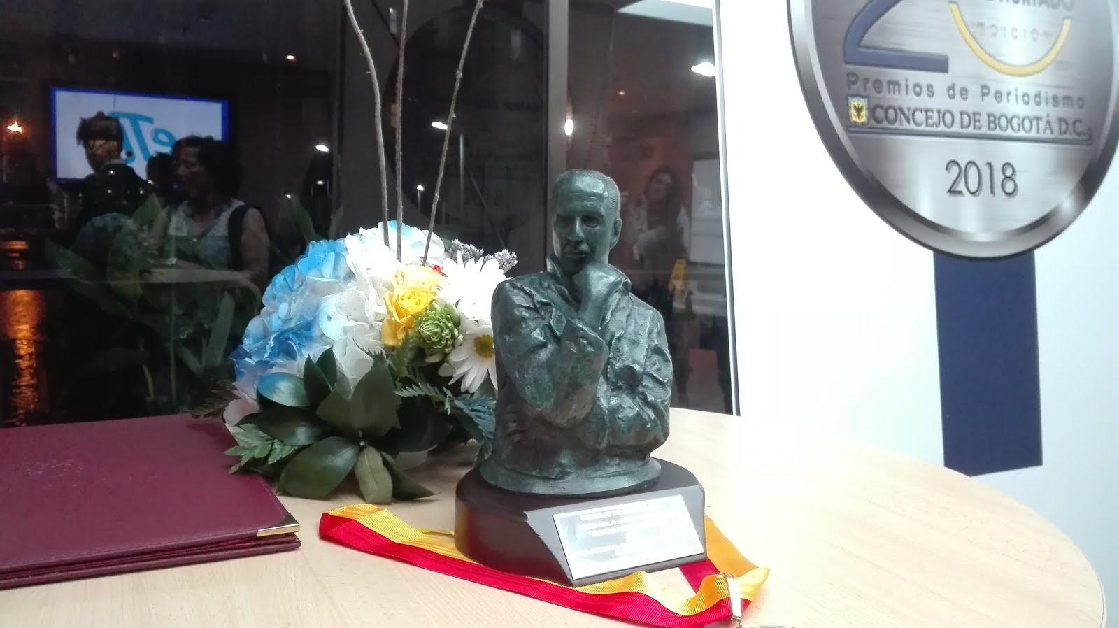 Primer lugar en los Premios de Periodismo Álvaro Gómez Hurtado
