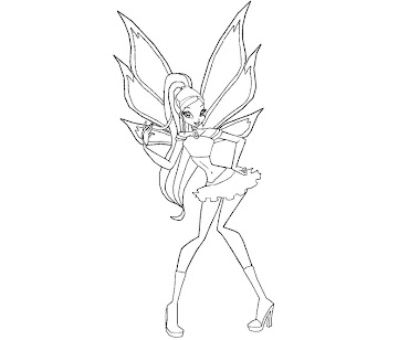 #10 Stella Coloring Page