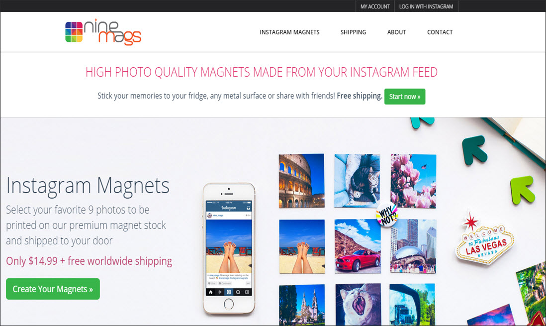 going web 2 0 app review how to create magnet souvenirs of your